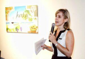 Lisa produces an award winning blog and video series for Jordan Vineyard & Winery.
